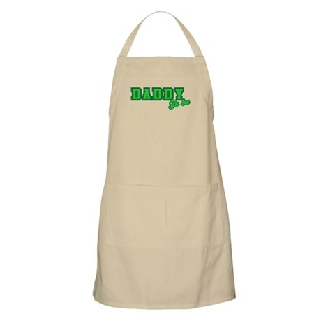 Daddy to Be (green) BBQ Apron