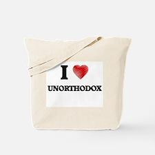 I love Unorthodox Tote Bag
