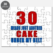30 Another Cake Under My Belt Puzzle