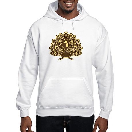 Vintage Turkey Hooded Sweatshirt