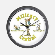 Military Central.Animal Capers.:-) Wall Clock