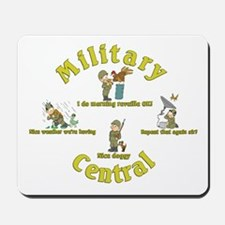 Military Central.Animal Capers.:-) Mousepad