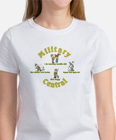 Military Central.Animal Capers.:-) Women's T-Shirt