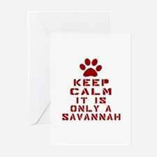 Keep Calm It Is Savannah Greeting Cards (Pk of 10)