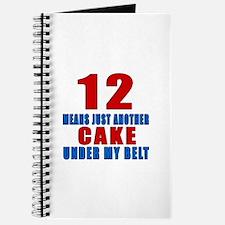 12 Another Cake Under My Belt Journal