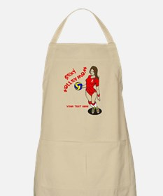 PERSONALIZED VOLLEY MOM Apron