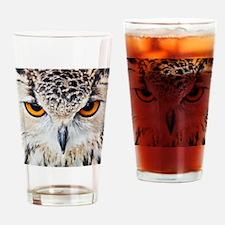 Owl Head Drinking Glass