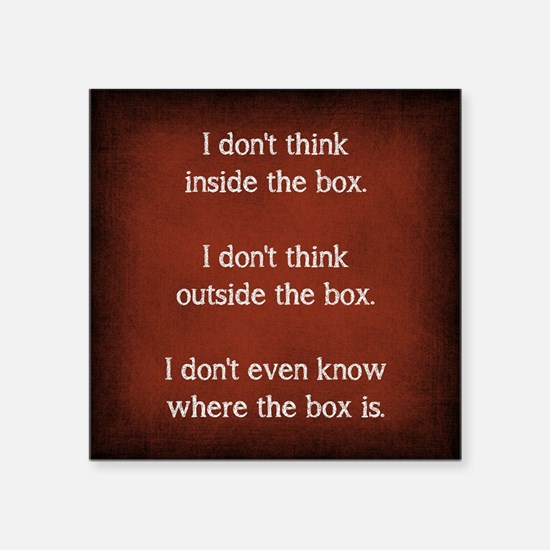 THE BOX Sticker
