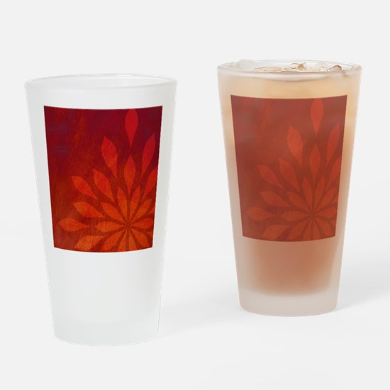 Flame Drinking Glass