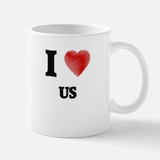 I love Us Mugs