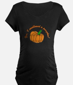 swallowed a pumpkin T-Shirt