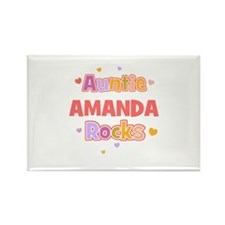 Amanda Rectangle Magnet