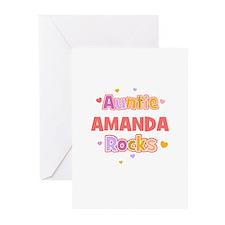 Amanda Greeting Cards (Pk of 10)