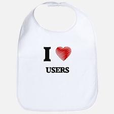 I love Users Bib