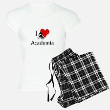I Heart Academia Pajamas