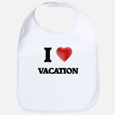 I love Vacation Bib