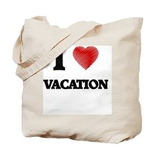 I love Vacation Tote Bag