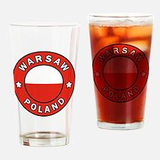 Cute Warszawa Drinking Glass