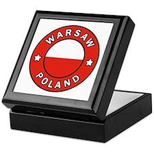 Cute Warszawa Keepsake Box