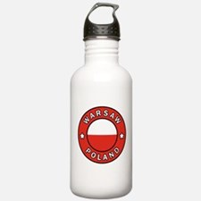 Warsaw Poland Water Bottle