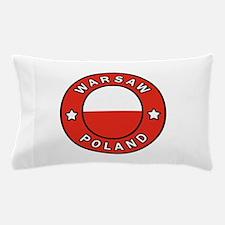 Warsaw Poland Pillow Case