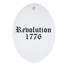 Revolution Oval Ornament