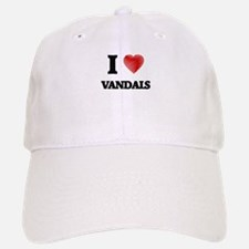 I love Vandals Baseball Baseball Cap