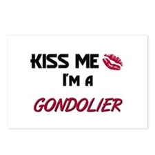 Kiss Me I'm a GONDOLIER Postcards (Package of 8)