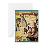 Shakespeare Greeting Cards (20 Pack)