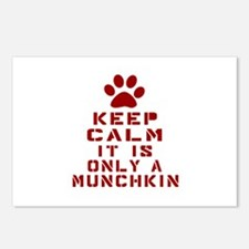 Keep Calm It Is Munchkin Postcards (Package of 8)
