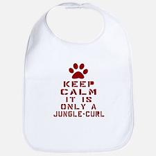 Keep Calm It Is Jungle-bob Cat Bib
