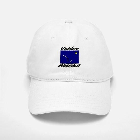 Valdez Alaska Baseball Baseball Cap