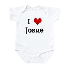 I Love Josue Onesie