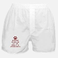 Keep Calm It Is Japanese Bobtail Cat Boxer Shorts