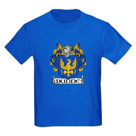 Dunne Coat of Arms Kids Dark T-Shirt