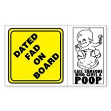 Dated Fad/Poop Decal