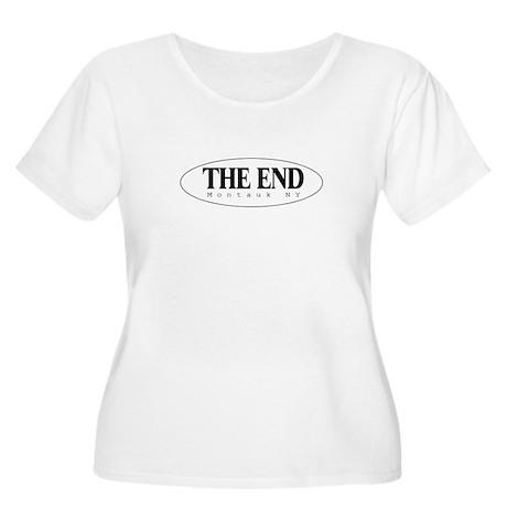 The End Women's Plus Size Scoop Neck T-Shirt