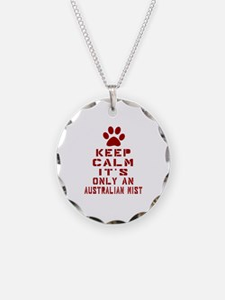 Keep Calm It Is Australian M Necklace