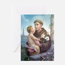 St. Anthony of Padua Greeting Cards