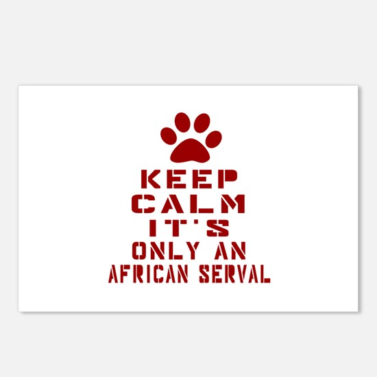 Keep Calm It Is African s Postcards (Package of 8)