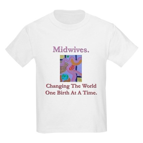 Midwives Change the World Kids T-Shirt