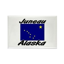 Juneau Alaska Rectangle Magnet