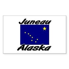 Juneau Alaska Rectangle Decal