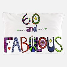 Cute Happy 60th birthday Pillow Case