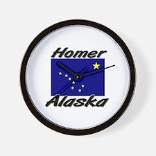 Homer Alaska Wall Clock