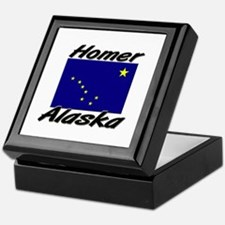 Homer Alaska Keepsake Box