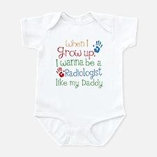Radiologist Like Daddy Infant Bodysuit