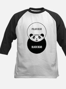 Panda Bear: Venn Diagram Baseball Jersey