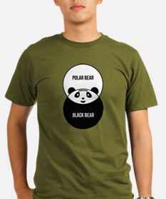 Panda Bear: Venn Diagram T-Shirt