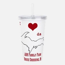 Yooper Love Acrylic Double-wall Tumbler